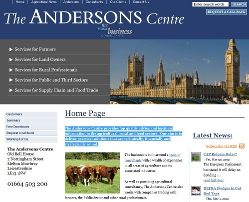 The Andersons Centre - Click to enlarge the image set