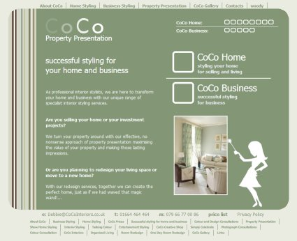 Coco Interiors - Ekit Clients - Ekit - Website Design, Development